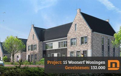 15 Woningen Jonkershof in Barneveld