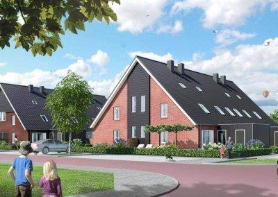 Drost Metselwerken - Rug aan Rug woningen Zwartebroek - 1