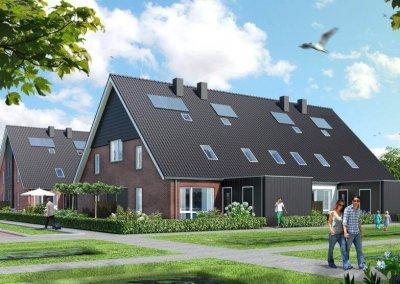 Drost Metselwerken - Rug aan Rug woningen Zwartebroek - 2