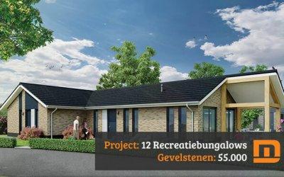 12 Recreatiebungalows IJsvogel in Voorthuizen