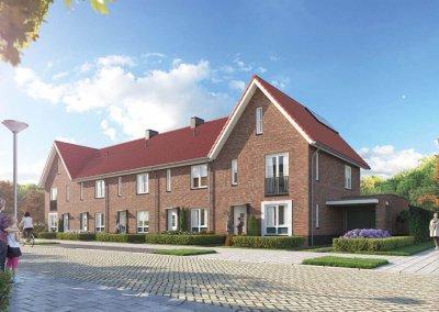 Drost Metselwerken Project Plan Molenbeek Nunspeet blok N (41-45)