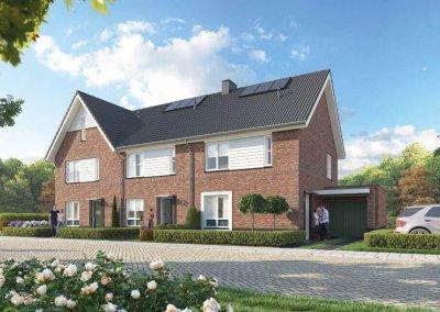 Drost Metselwerken Project Plan Molenbeek Nunspeet blok P (50-52)
