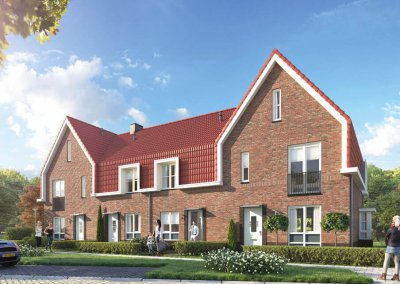 Drost Metselwerken Project Plan Molenbeek Nunspeet blok Q (53-56)